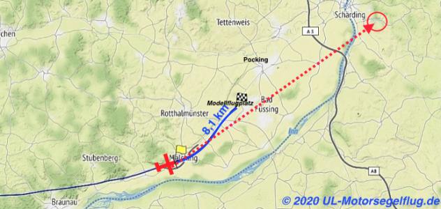 D-MZKB_Flarm-IGC-Auszug_Position-Propellerverlust